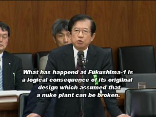 """Prof. Takeda's Testimony: """"Japanese Nuke Plants Are Meant to Collapse""""/武田邦彦・国会証言(May/18/2012)"""