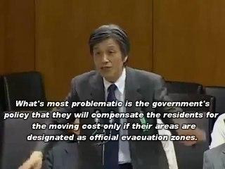 Prof. Kodama Angry about Japanese Gov.'s Gross Negligence [Part 2/2]/児玉龍彦・国会証言(Jul/27/2011)