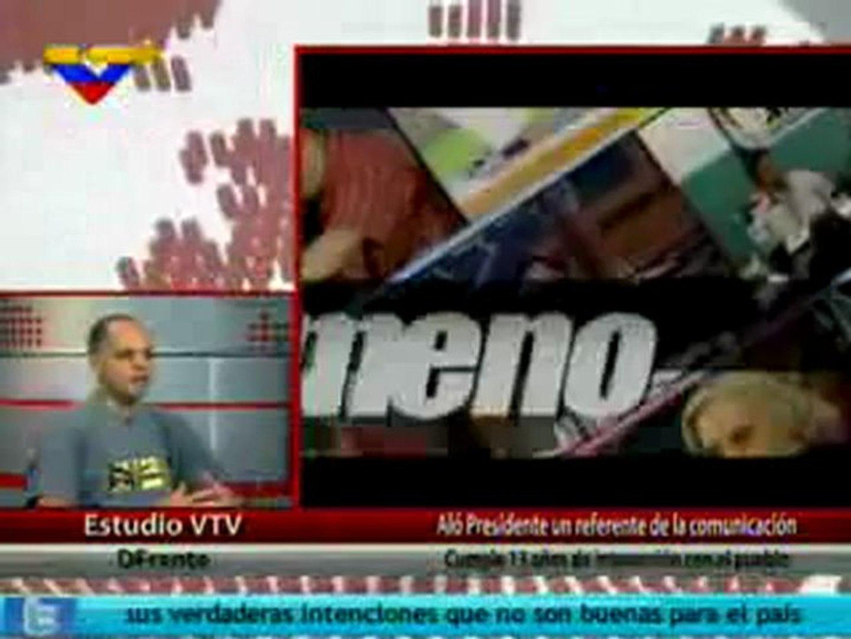 (VÍDEO) D Frente Andres Izarra ministro de Comunicación e Información  3/3