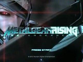 Ecran de la démo E3 2012 de Metal Gear Rising : Revengeance