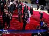 Benicio del Toro, Agnès Varda on Cannes red carpet