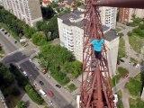 150 mètres au-dessus du sol
