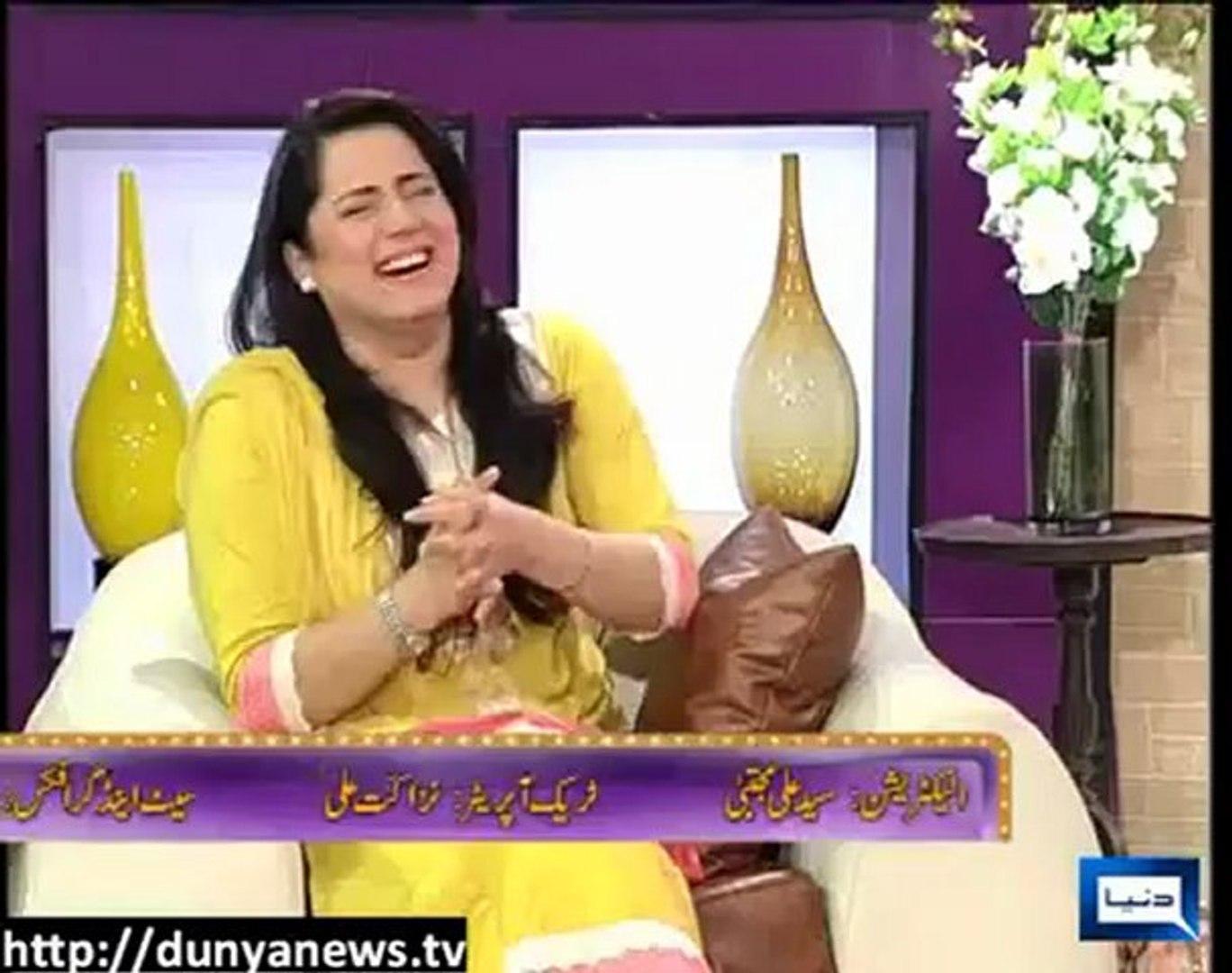 Azizi As Fashion Designer Zvs 24th May 2012 Sohail Ahmed Hasb E Haal Video Dailymotion