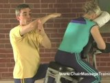 Compression Techniques to Low Back - Chair Massage Techniques with Eric Brown