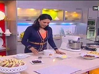 halawiyat choumicha - petit four (biscuit sablé, ghriba)