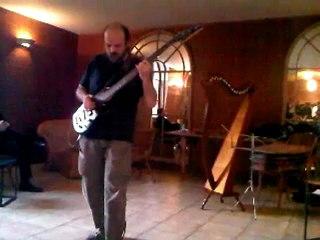 John Bonobo - Live at the Abbaye des Vaux de Cernay - 22 mai 2012 (extrait)