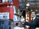 Visite de quartier avec Arnaud Montebourg