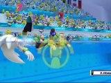Mario et Sonic aux Jeux Olympiques de Londres 2012 - Natation Synchronisée : Equipe (VS)