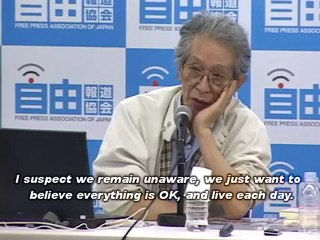 Journalists Pressed Criminal Charges Against Brainwashing Scientists and TEPCO Management (July 2011)/広瀬隆、山下俊一らを刑事告発