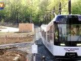 Un train écologique pour monter au sommet du Puy de Dôme