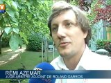 Roland-Garros : des faucons pour éloigner les pigeons des courts