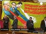 Ukraine: demonstration against a bill over... - no comment