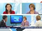 Législatives 2012 - France 3 Franche-Comté / Débat 1ère circonscription du Doubs