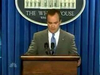 11/21/07: McClelland Fingers Bush, Cheney, Rove in Plame Leak