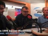"""""""Un jour, un match culte à Roland-Garros"""" : Agassi contre Medvedev (1999)"""