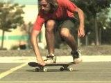 Skateboard Flat ground tricks (1000 fps slow motion)