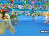 Mario et Sonic aux Jeux Olympiques de Londres 2012 - Natation Synchronisée : Equipe (Co-op)
