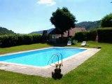 A Vendre Maison – Viers (15590 Lascelle – 15km Aurillac – Cantal)  Prix 450.000€ Tel. 06.87.14.43.61 (Particulier) – 250m2 habitable – Parc 2500 m2 – Piscine
