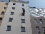Nettoyage de façade Lille Roubaix Tourcoing Nord Plus Haut - Travaux en hauteur