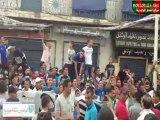 Sit-in et marche des supporters à Bab El Oued