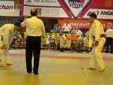 Finale championnat de France de judo F.S.G.T.  - junior -81kg -le 28 mai 2012 à Béziers (34)