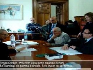 Reggio Calabria, presentate le liste per le prossime elezioni