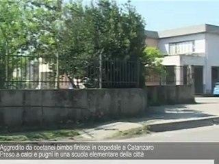 Bimbo di 6 anni picchiato da coetanei a Catanzaro, è grave