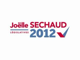 Joëlle SECHAUD, la campagne législtives 2012 en Vidéo