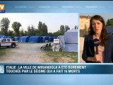 Séisme en Italie : 41 nouvelles secousses enregistrées dans la nuit
