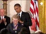"Barack Obama récompense Bob Dylan, dont il se dit ""fan"""