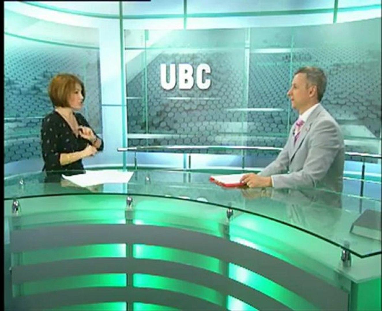 Выступление Л.Богуш на UBC 20.05.2011 с ведущим Виталием Михайловым. Часть 2