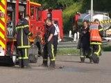 Caen : un camion citerne renversé sur le périphérique ce matin