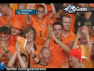 Holland 2-0 Slovakia (Friendly)
