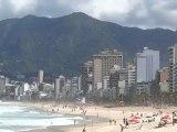 BRESIL: Du coté des plages d'Ipanema et Leblon à RIO DE JANEIRO