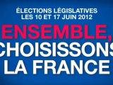 Clip officiel de l'UMP pour les élections législatives 2012