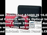 Canon PowerShot A3400 Price | New Canon PowerShot A3400 IS Digital Camera Bundle | Canon PowerShot A3400 Specs