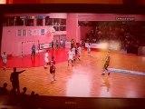 Ivry - Istres / But Handball Yann Gentil /  Handball