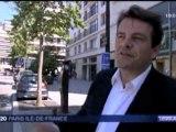 Thierry Solère en campagne à Boulogne (Reportage de France 3)