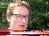 Alexandre Lefèvre apporte son soutien à Alain Cousin