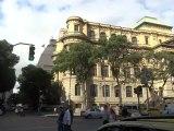 BRESIL: Place de Rio de Janeiro avec le Theatre municipale et la bibliotheque