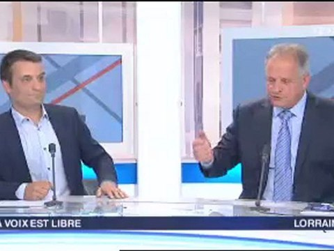 Florian Philippot sur France 3 Lorraine - Insécurité