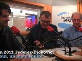 """VIDEO - Roland-Garros - """"Un jour, un match culte"""" : Federer contre Djokovic (200VIDEO - Roland-Garros - """"Un jour, un match culte"""" : Federer contre Djokovic (2011)"""