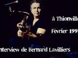 Interview Bernard Lavilliers (février 1992)