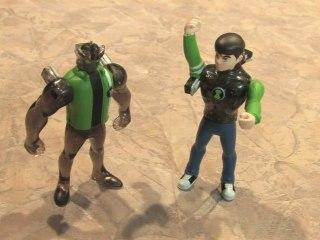 Classic Toy Room - BEN 10 ULTIMATE ALIEN: Ben 10 and Alien X figures review
