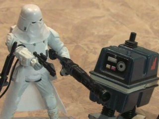 Classic Toy Room - STAR WARS: SAGA LEGENDS SNOWTROOPER action figure review
