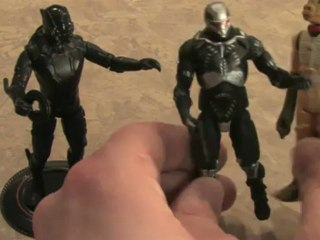 Classic Toy Room - TRON LEGACY: BLACK GUARD action figure review