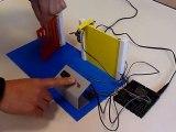 Technologie : fonctionnement de la maquette d'un portillon