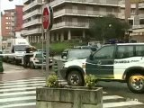 Dos escoltas, ilesos tras un tiroteo en Castro Urdiales