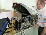 Video: Sauber F1 Team - World Premiere_ Cutaway F1 Race Car