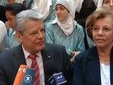 Getting Acquainted - German President Joachim Gauck in Israel   People